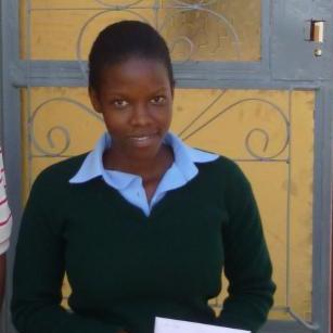 Tanzania scholarship recipient