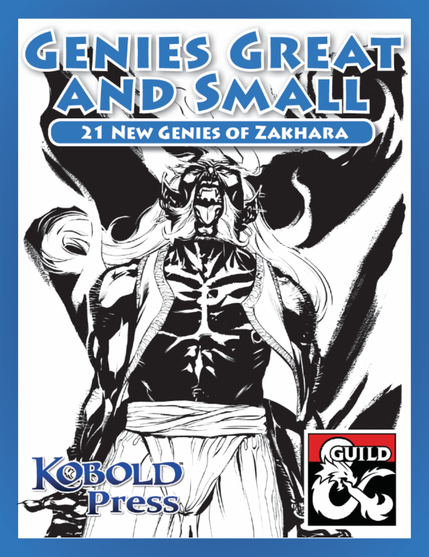 Kobold Press] 5e Al-Qadim Genies, Elemental Magic, Warlock