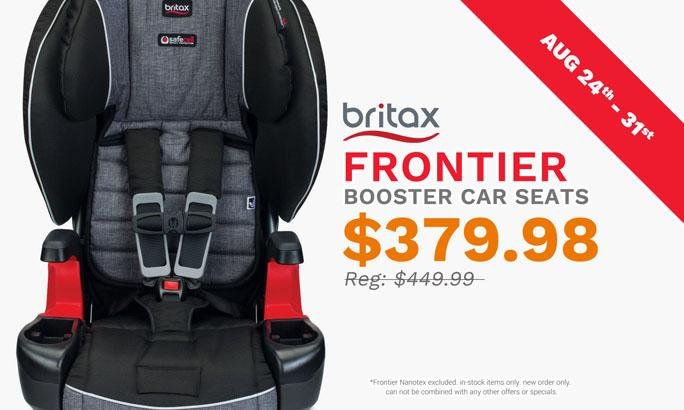 Britax Frontier Booster Car Seat 70 Off