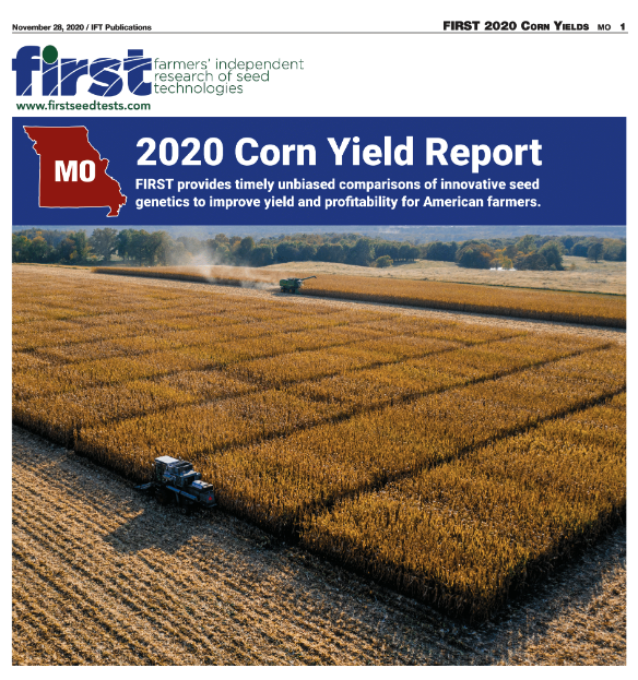 Missouri Farmer Today FIRST Corn Report 2020