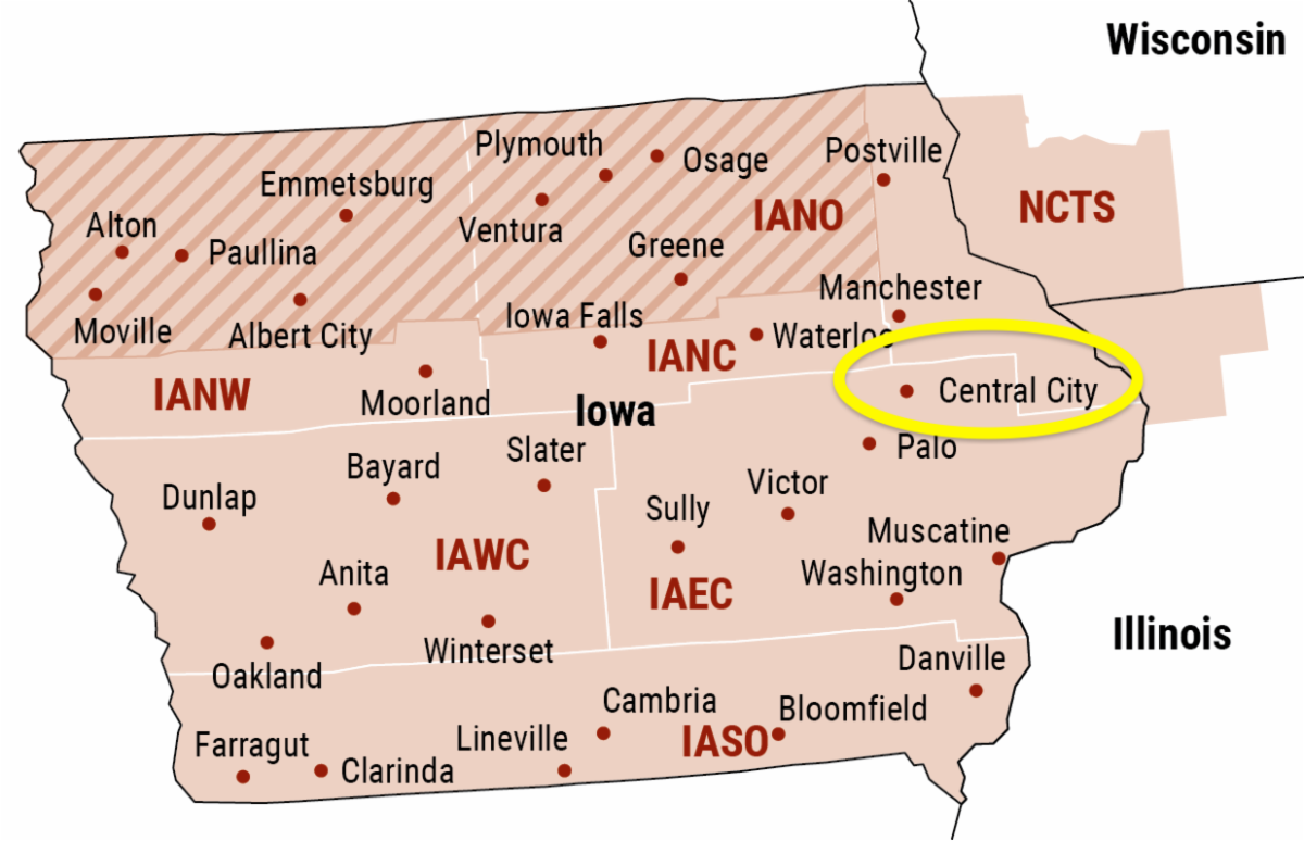 Iowa FIRST site map