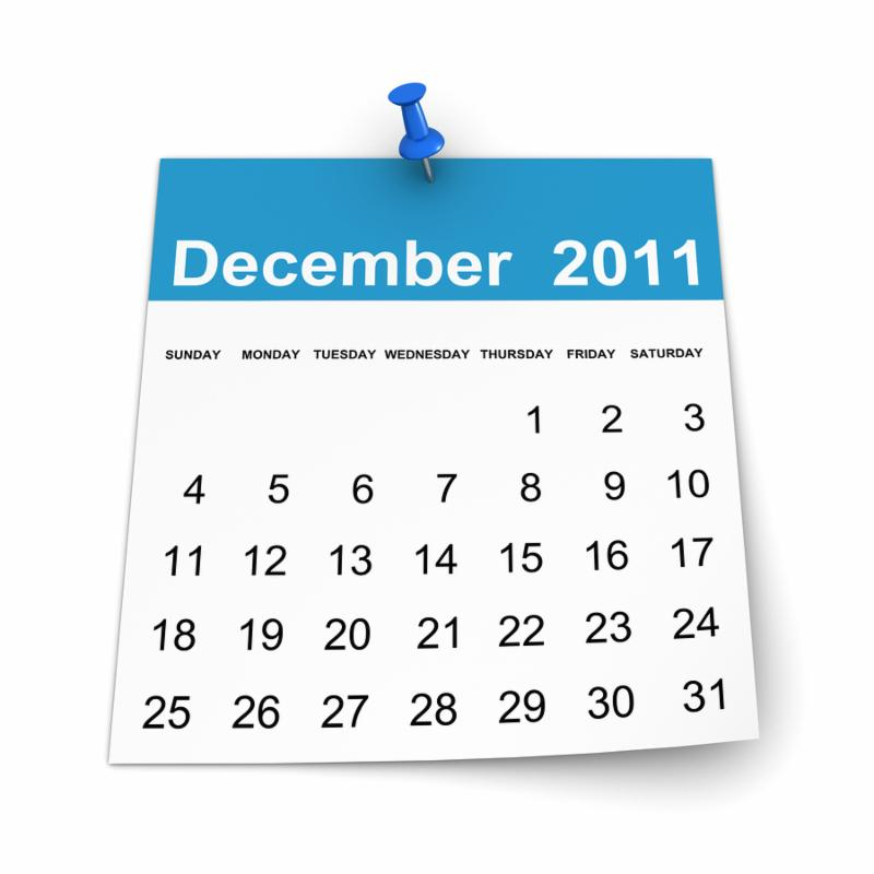 Simple Calendar 2011 Concept.  Isolated on white Background.