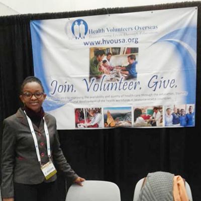 Christine Ufashingabire at AANA Congress 2018