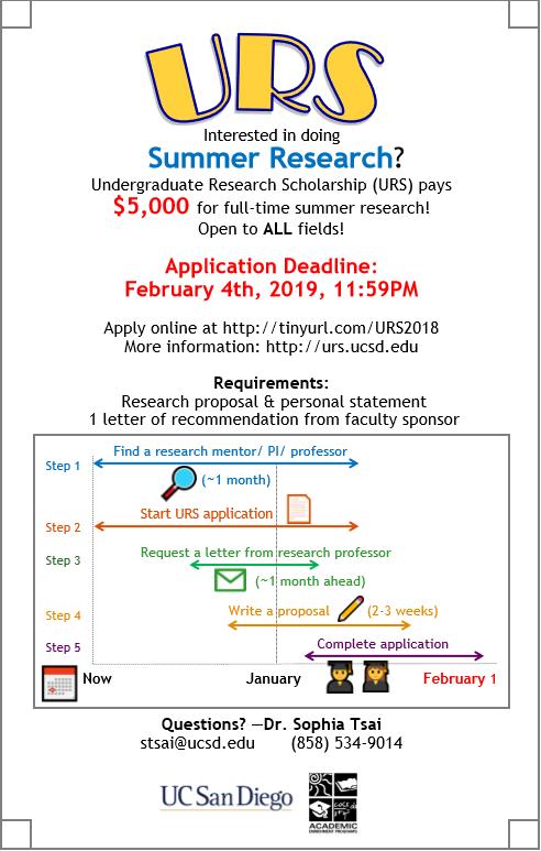 Ucsd Academic Calendar 2019.Casp E News February 2019 Uc San Diego