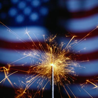 July Fourth Sparkler