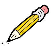Illustration of a pencil