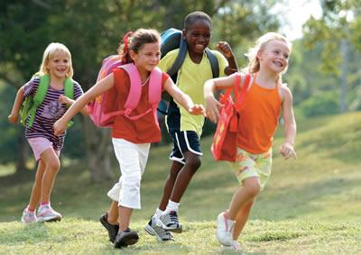 Running Children