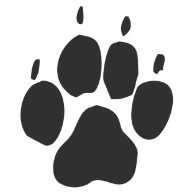 Illustration of a paw print