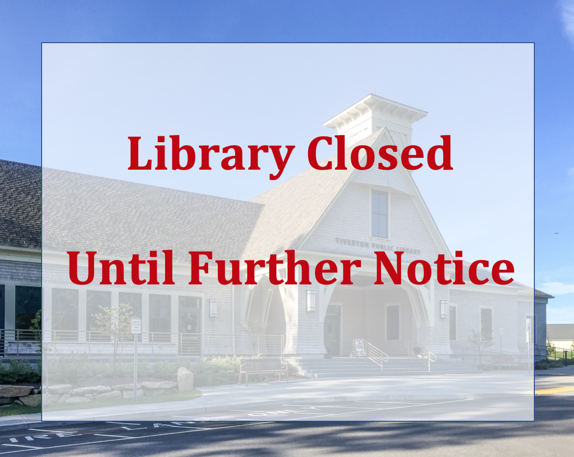 Library Is Closed Until Further Notice