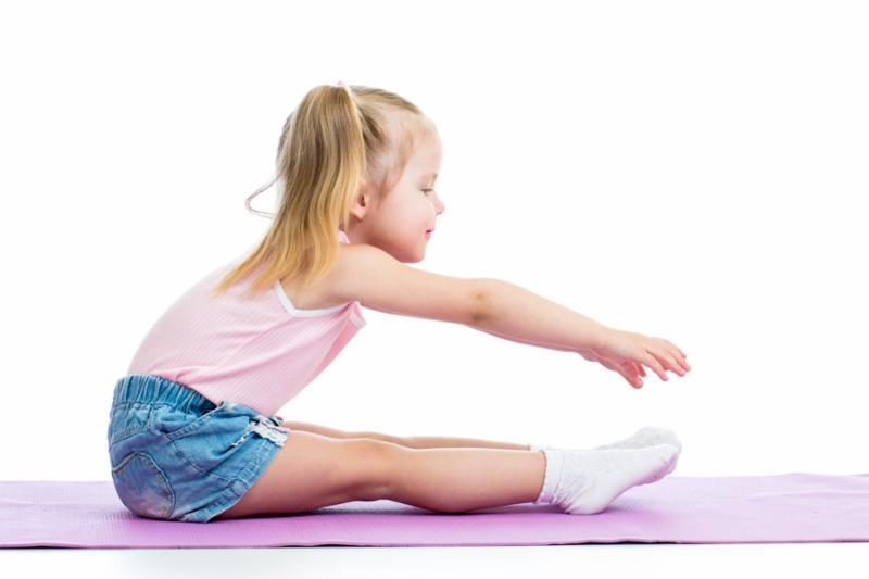 Child Exercising