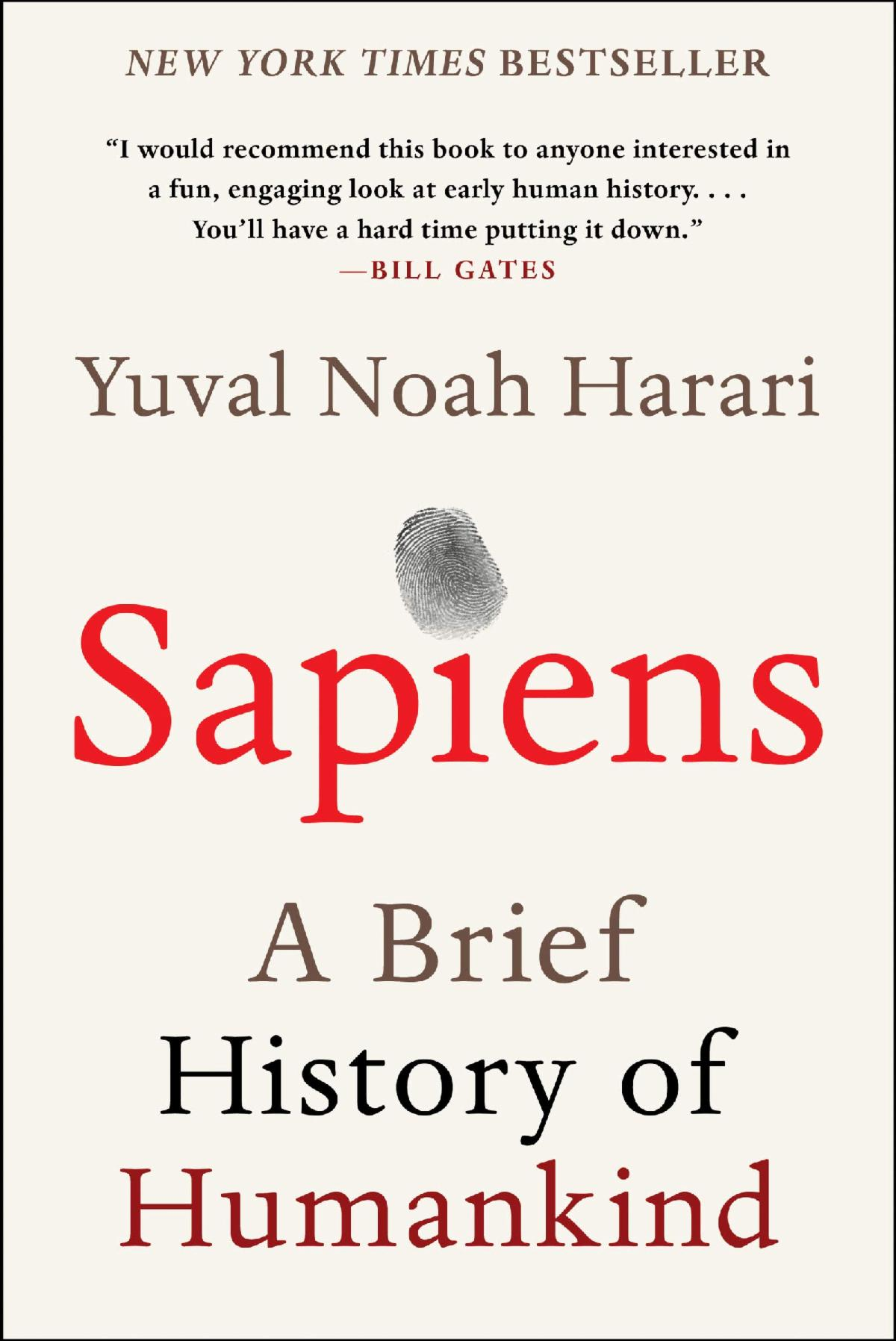 Sapiens: A Brief History of Human Kind