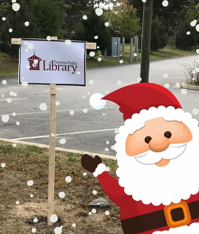 Santa at Storywalk