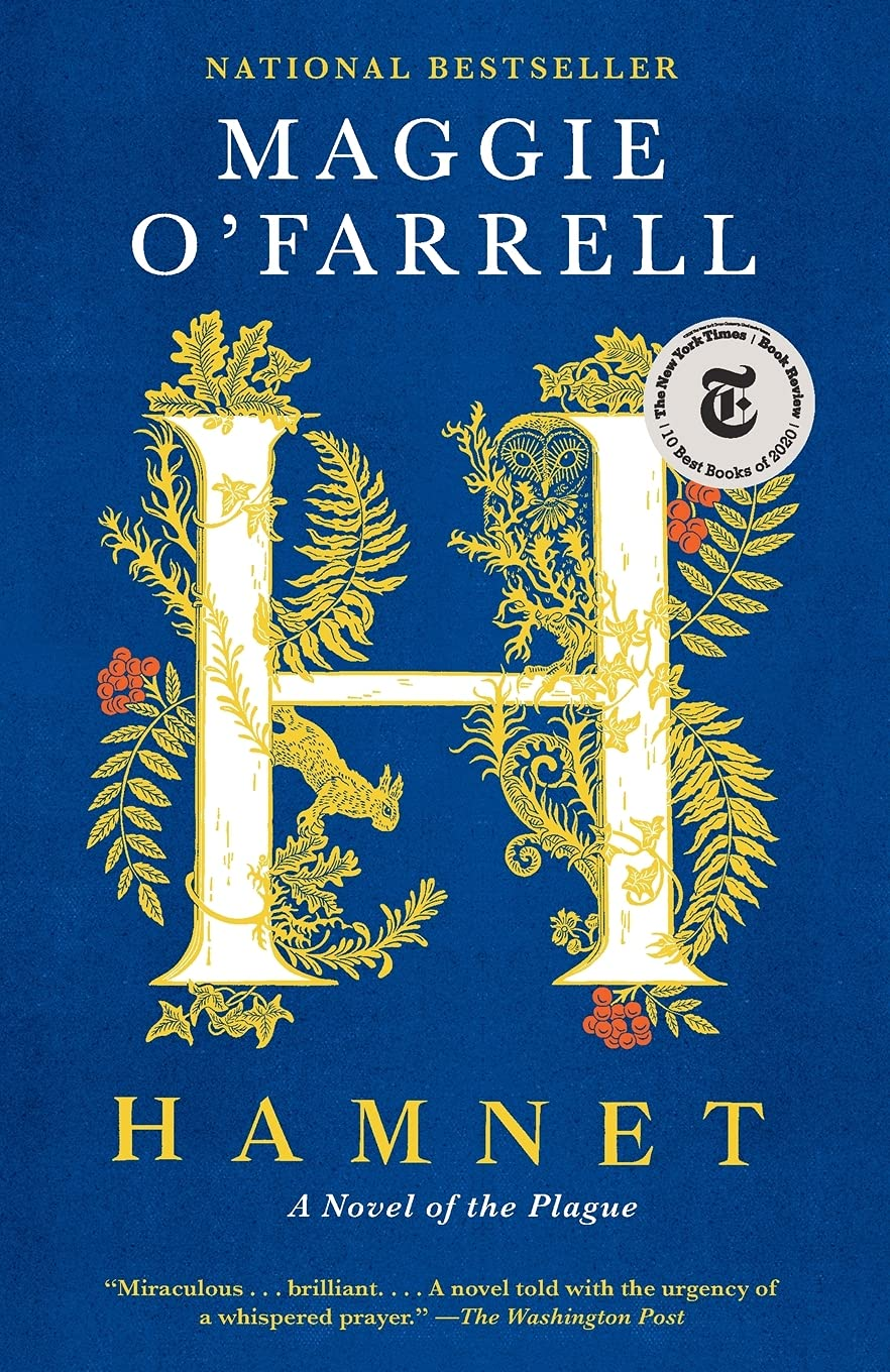 'Hamnet: a Novel of the Plague' by Maggie O'Farrell
