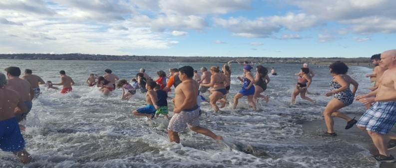 Scene from 2019 Plunge