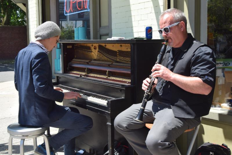 Musica at Sidewalk Sale 2017