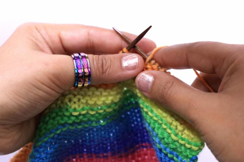 rainbow row counter ring