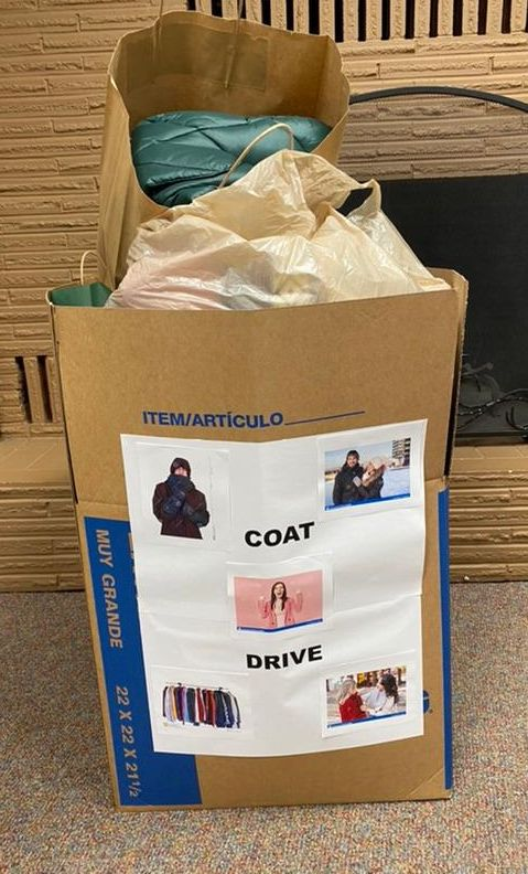 1st Box of coats