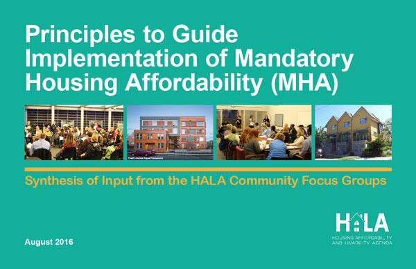 Focus Groups MHA Principles Summary