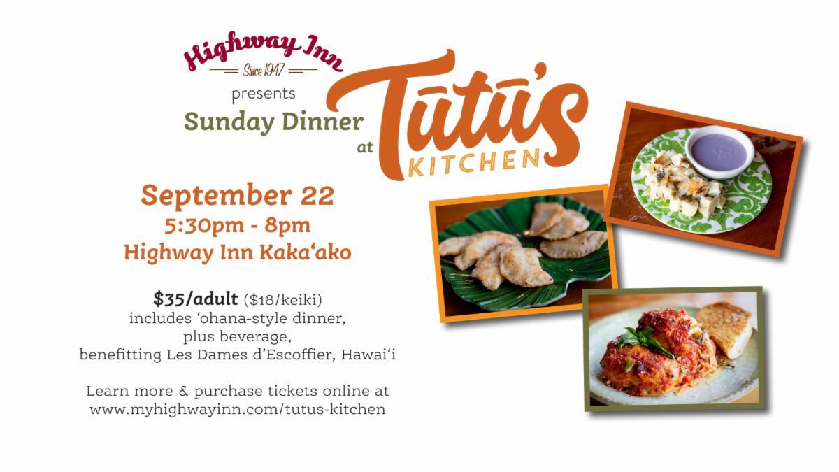 Sunday Dinner at Tutu's Kitchen & Olelo Lessons with Kamaka