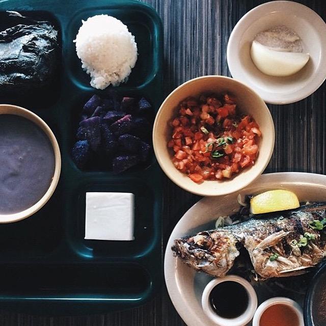 Combo Plate Fish & Poi Lomi Salmon