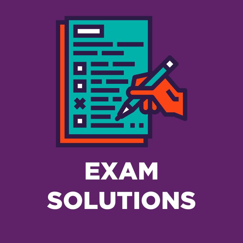 exam solutions