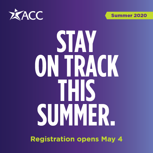 stay on track this summer with registration opening up starting May 4