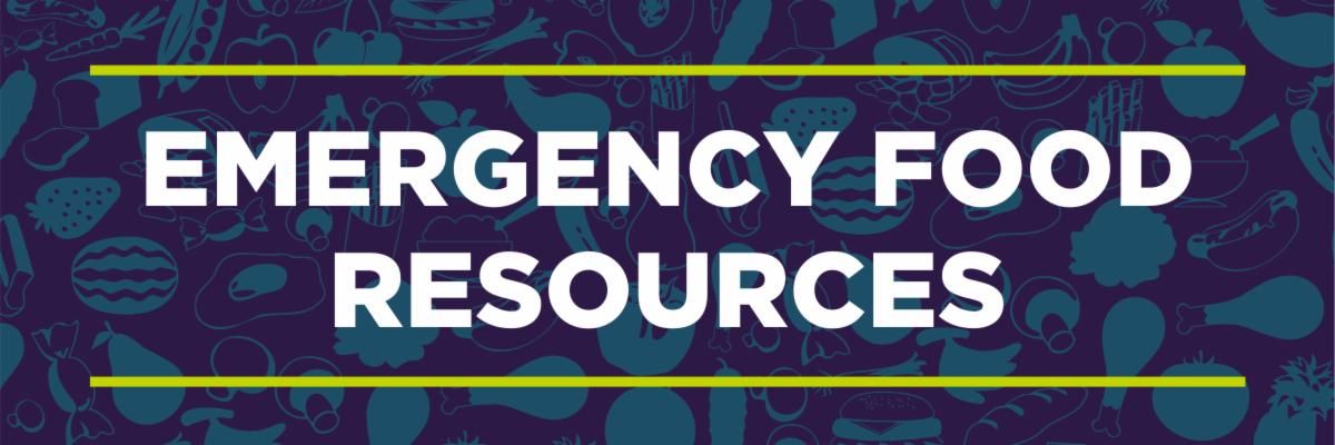 Emergency food resources