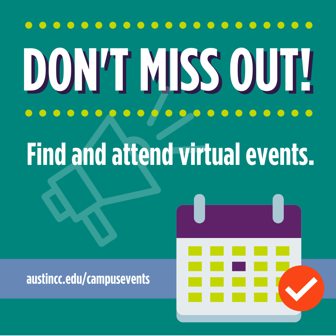 Find and attend virtual events