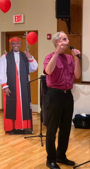 Bishop Doug Fisher stopped by