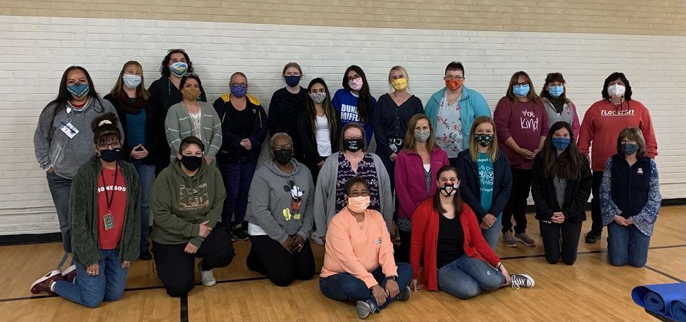 2021 KinderCamp teachers at their recent training.