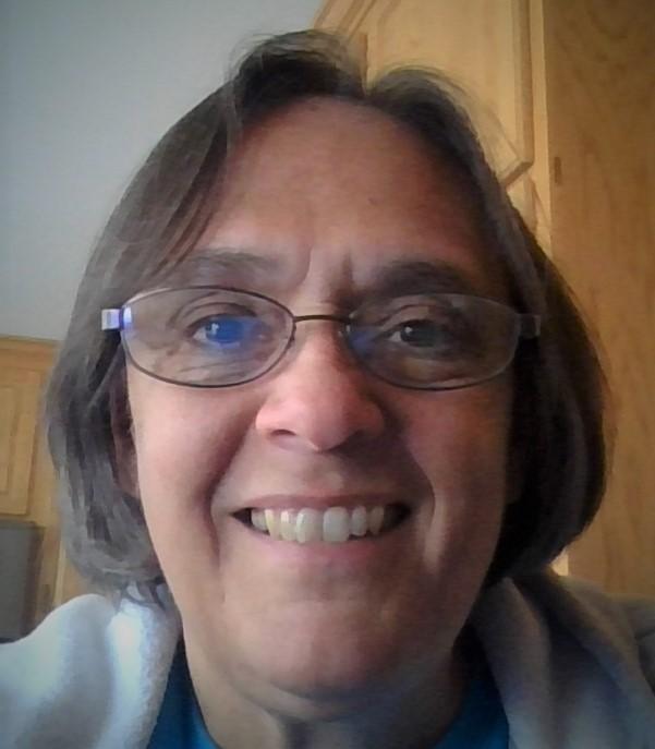 selfie photo of Kathy Fell