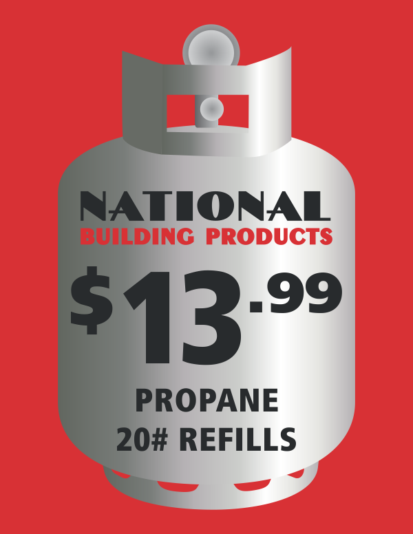Propane Refills now available