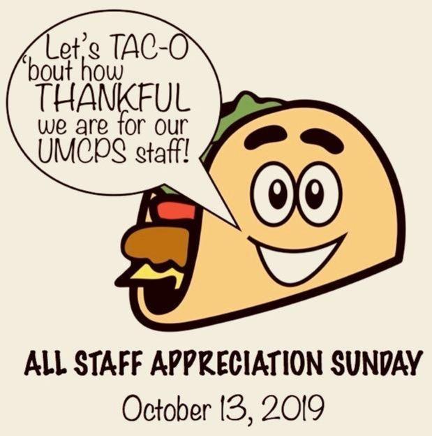 staff appreciation