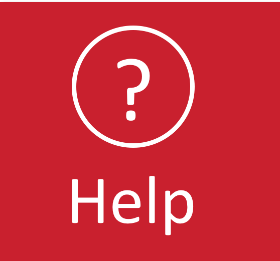 A red button with a question mark and Help in white writing