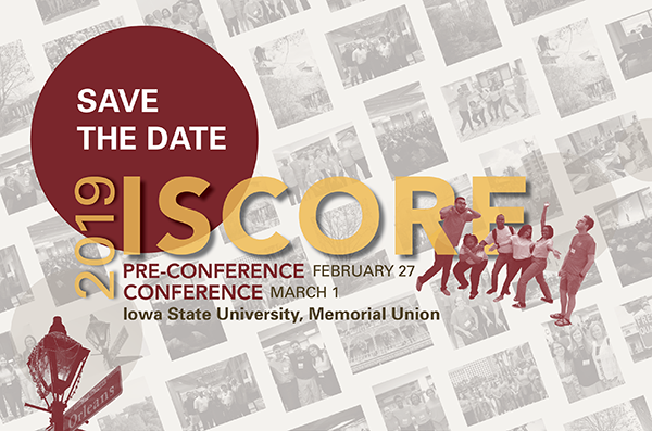 ISCORE Iowa State Conference on Race and Ethnicity 2019