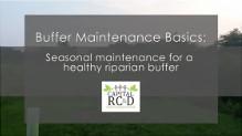 RC&D Buffer Video