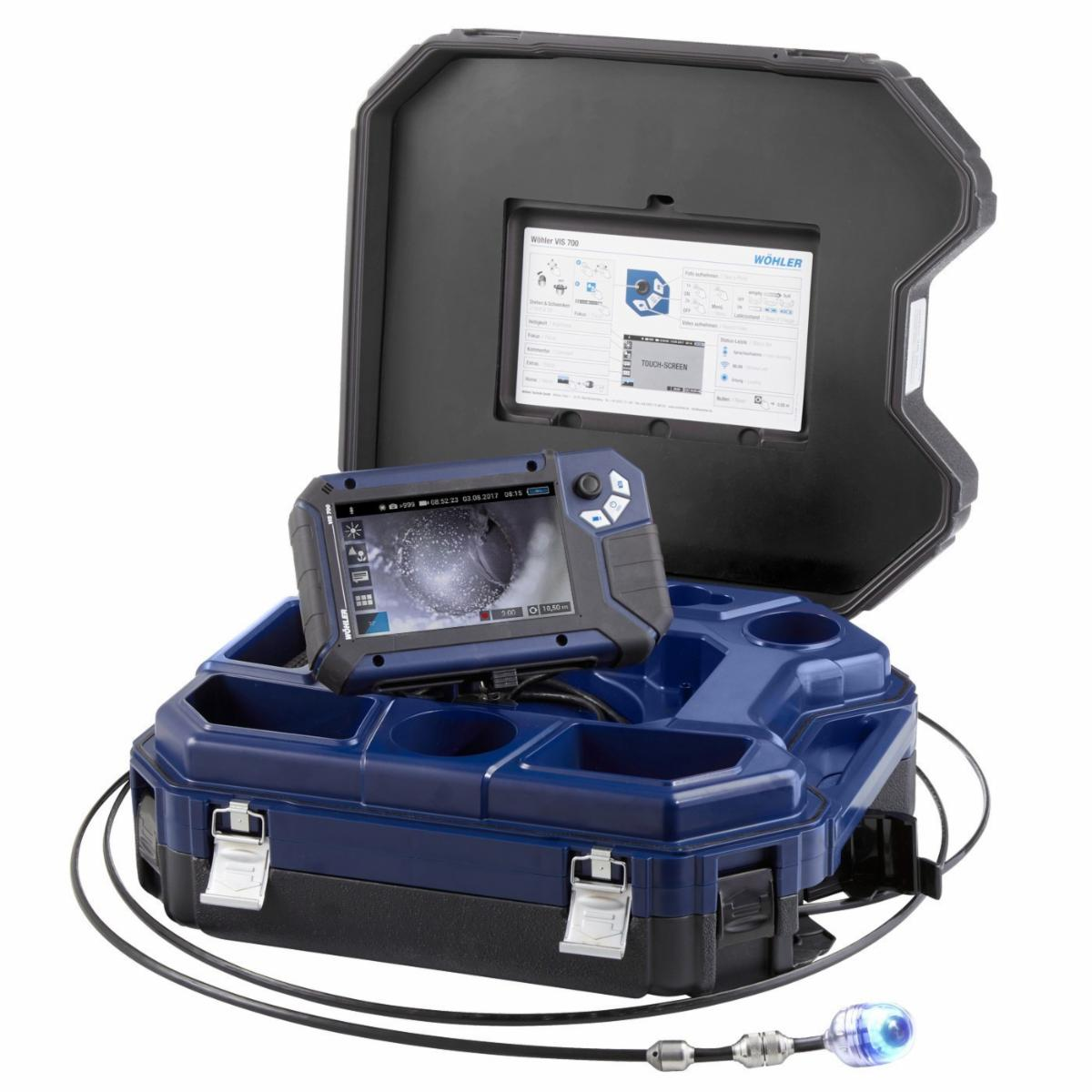 """WOHLER VIS 700 HD INSPECTION CAMERA WITH 1.5"""" CAMERA HEAD"""
