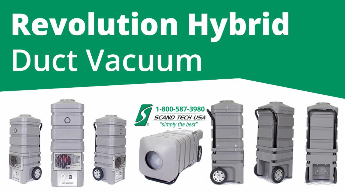Revolution Hybrid Duct Vacuum – Double the Suction