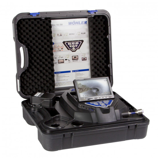 WOHLER VIS 250 INSPECTION CAMERA with 1-inch head camera
