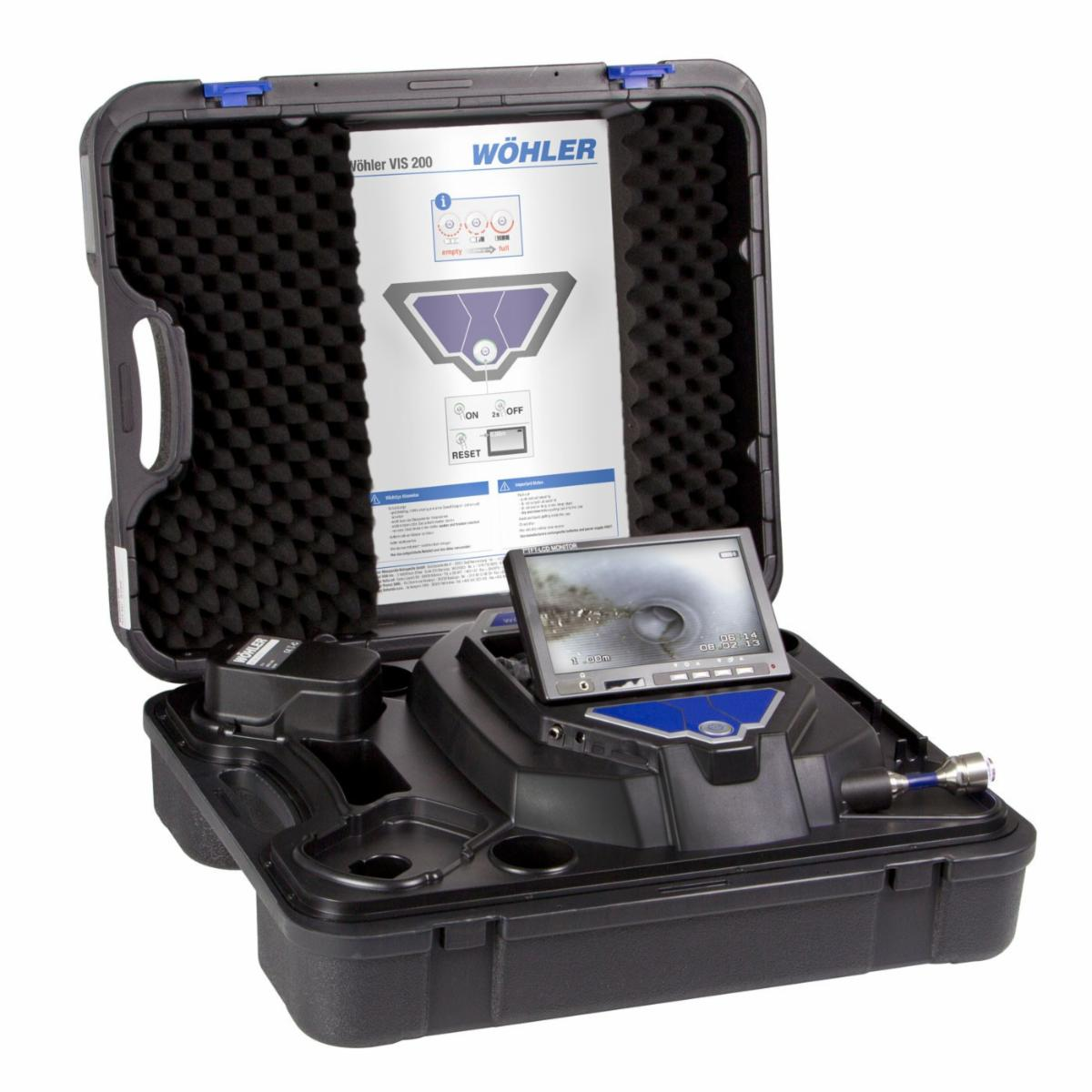 WOHLER VIS 200 INSPECTION CAMERA WITH CAMERA HEAD 1-IN