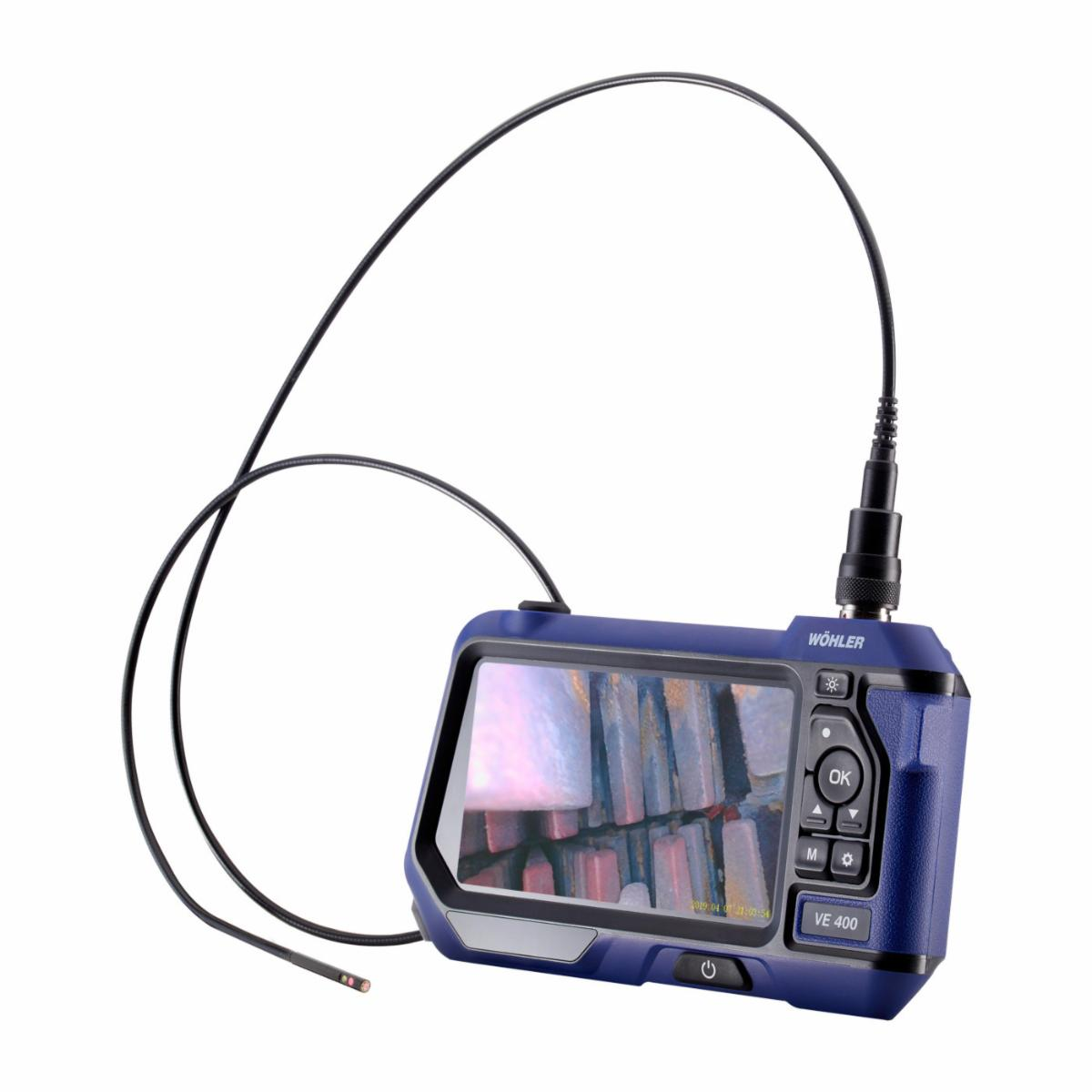 """WOHLER VE 400 HD VIDEO ENDOSCOPE WITH HD PROBE 0.22"""" & 360° VIEW"""