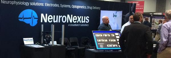PHOTO - New Scale MPM System and NeuroNexus at Neuroscience 2017