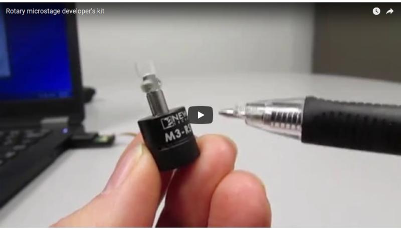 WATCH VIDEO - ROTARY MICROSTAGE DEV KIT