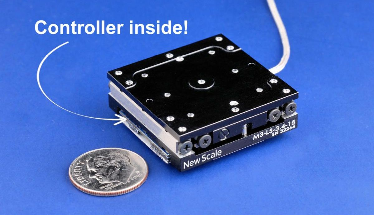 PHOTO - Micro stage with embedded controller