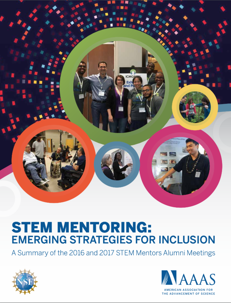 Cover Image for Handbook_ STEM Mentoring Strategies