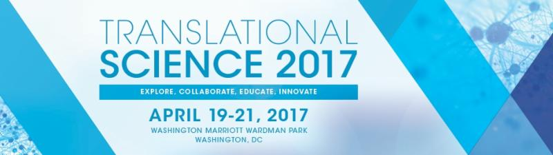 Advert for Translational Science 2017
