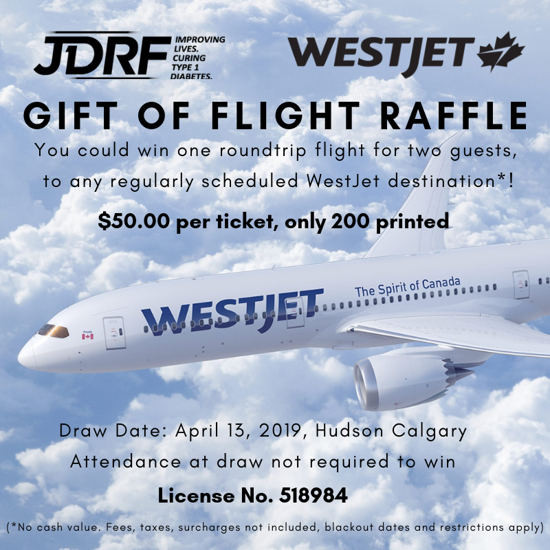 West Jet Raffle