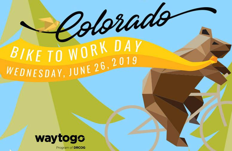 Colorado Bike to Work Day is June 26