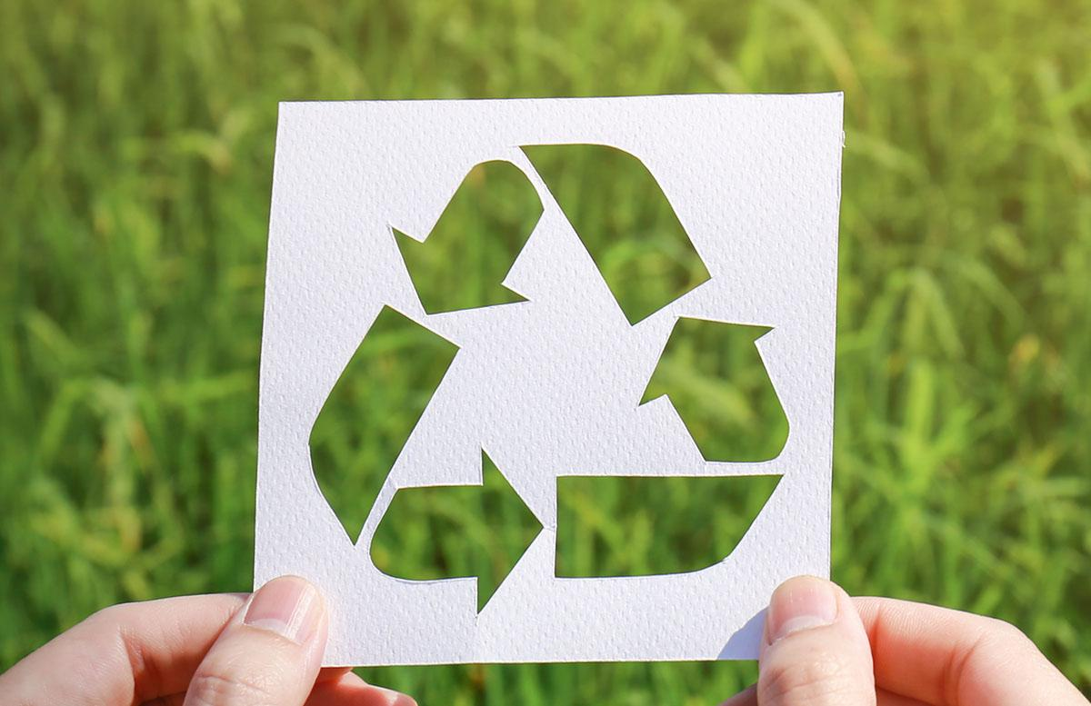 image of the recycle icon