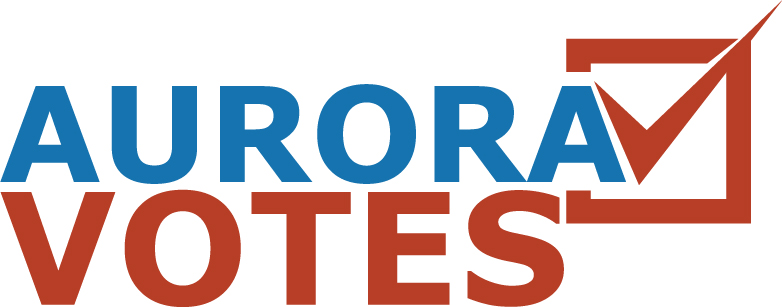 Aurora Votes logo